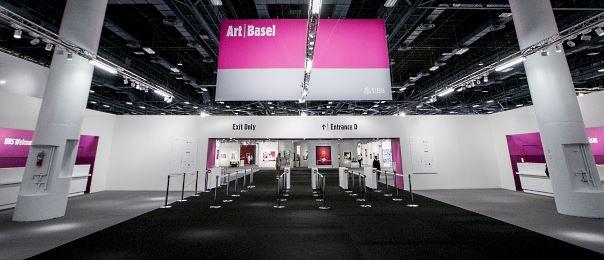 Feria de arte contemporáneo Art Basel